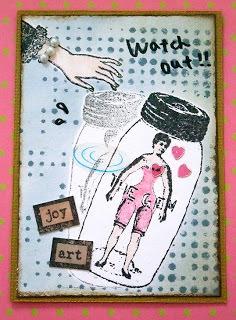 MAROさんのATC@Stamp Wonderland 2011