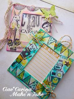 Ciao*Carina Hobby Show Make'n Take Sample